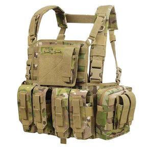 YAKEDA Detachable Lightweight Tactical Vest