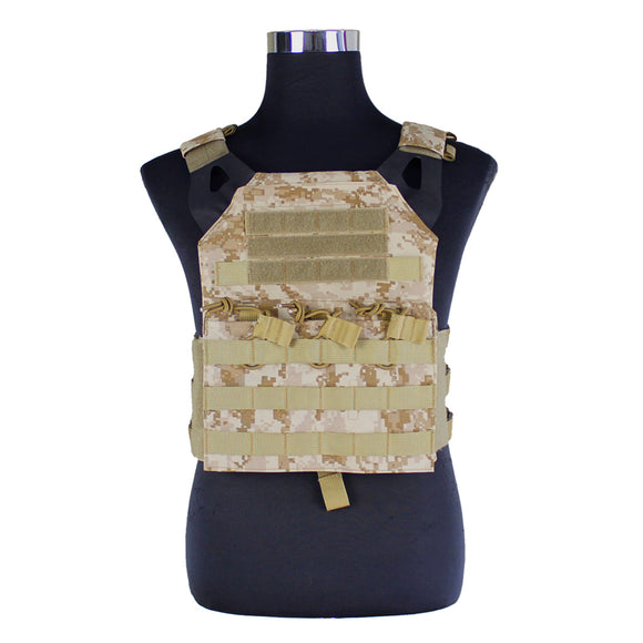 WST JPC Plate Carrier Tactical Vest for Airsoft Paintball Hunting Sports - tacticalxmen