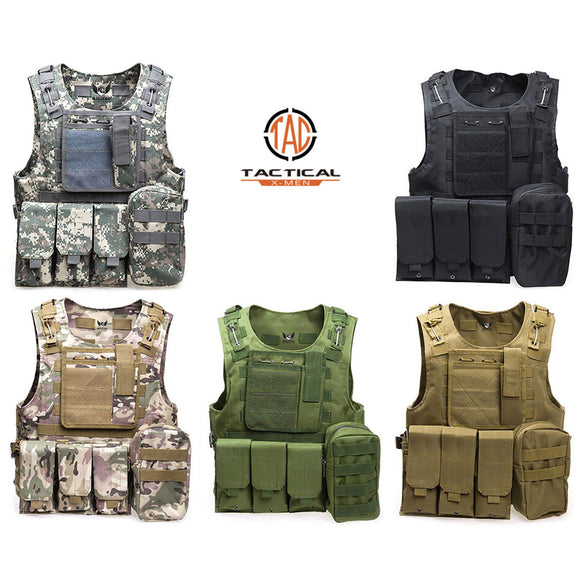 FSBE Amphibious Assault Tactical Vest Full Spectrum Battle Equipment Amphibious Assault Vest - tacticalxmen