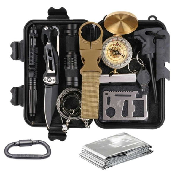 14-in-1 Outdoor Survival Tool Kit