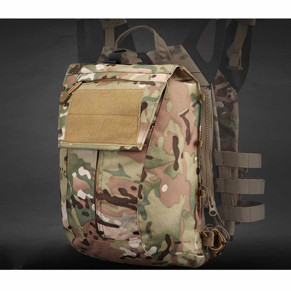 JPC Tactical Zipper Bag Military Backpack Expand Bag Attached PackⅠ