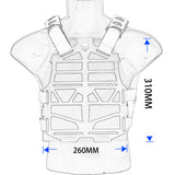 Emersongear Frame Tactical Vest Airsoft Plate Carrier for Outdoor Sports - tacticalxmen