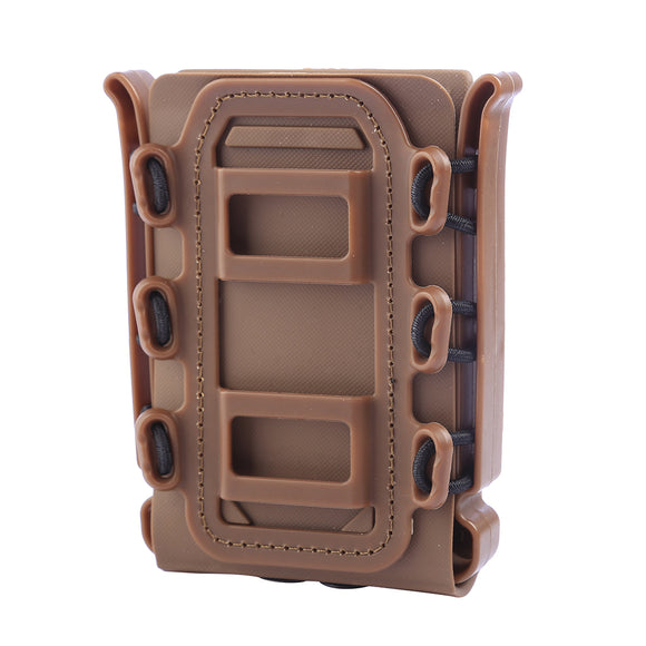 FMA Universal Soft Shell Fastmag Holder- Brown - tacticalxmen