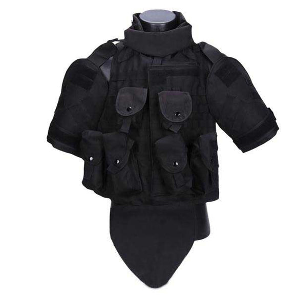 Wolf Slaves Ghost Interceptor OTV Airsoft/Paintball Tactical Molle Body Armor - tacticalxmen