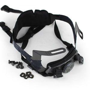 Wosport Helmet Head Locking Buckle System - tacticalxmen