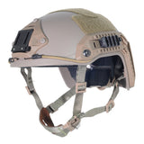 FMA Tactical Maritime Helmet for Airsoft/Paintball/Hunting Sports- Tan - tacticalxmen