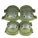 Professional Military Tactical Elbow Knee Pads Set for Airsoft Paintball Hunting Sports - tacticalxmen