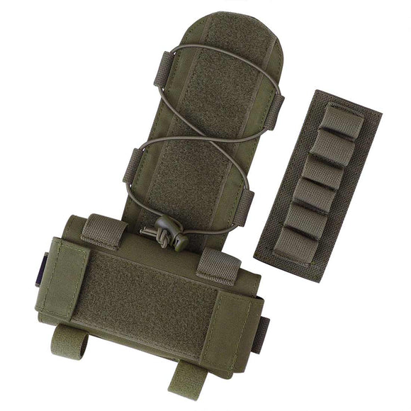 KRYDEX Tactical MK1 Battery Pack Pouch For Combat Helmet Accessory Storage Retention System Counterweight GPNVG-18 Battery Box