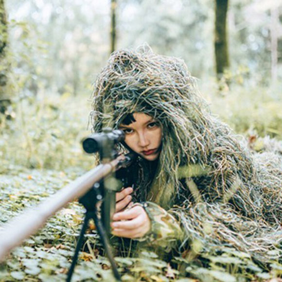Children Tactical Camo Jungle Ghillie Suit - tacticalxmen