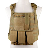 Wosport Molle Adjustable Tactical Vest - tacticalxmen