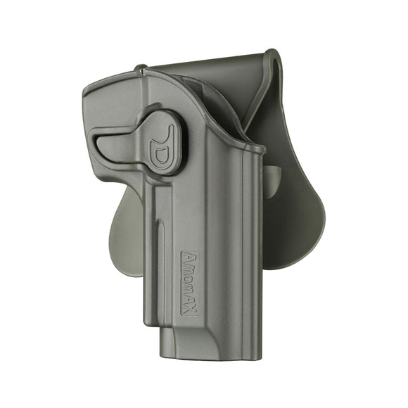 Amomax Adjustable Tactical Holster for Tokyo Marui/WE/KJW/KSC/KWA - Right-handed Green