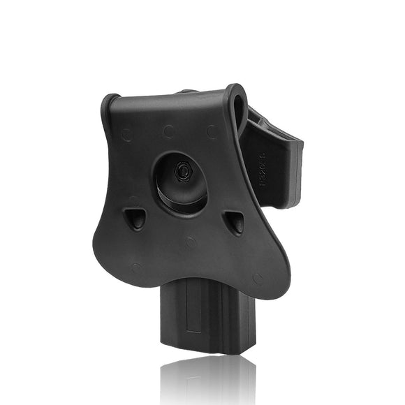 Amomax Adjustable Tactical Holster for Sig Sauer P320 Full Size - Right-handed Black (Standard only with waist plate, no other accessories)
