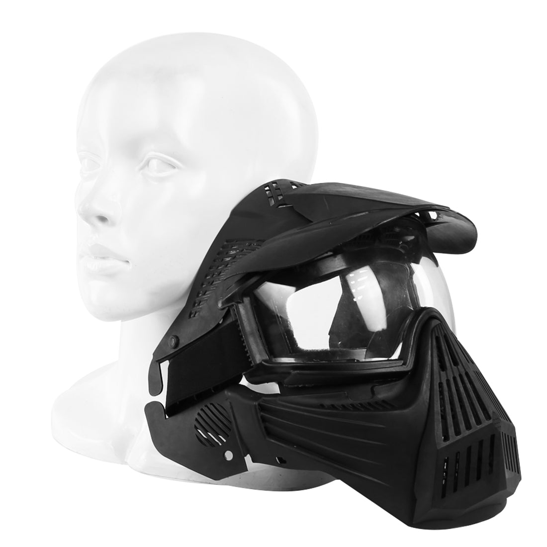 airsoft masks coloring pages | WST Airsoft Mask Adjustable Full Face Tactical Mask with ...
