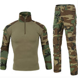 ESDY Hunting BDU Combat Uniform for Airsoft Paintball - Jungle - tacticalxmen