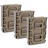 3 pcs TPR Magazine Pouch WST Fastmag for AR15 M4 5.56/7.62 Magazine - tacticalxmen