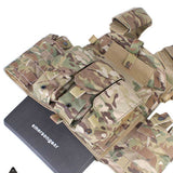 EmersonGear 6094K Plate Carrier with M4 Triple Mag Pouch - tacticalxmen
