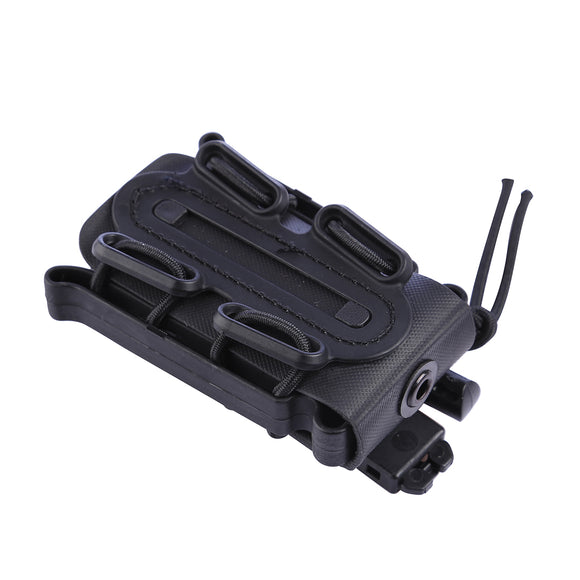 FMA Universal Soft Shell Fastmag Holder - Black - tacticalxmen