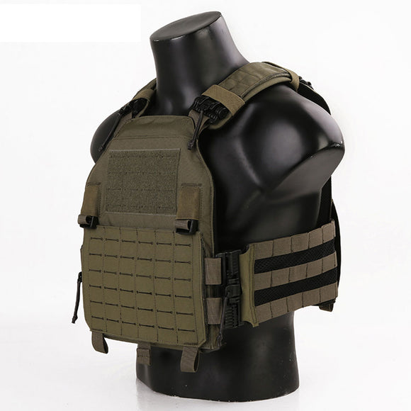 Emersongear LAVC ASSAULT Plate Carrier W ROC Quick Released 420 Vest Molle Body Armor