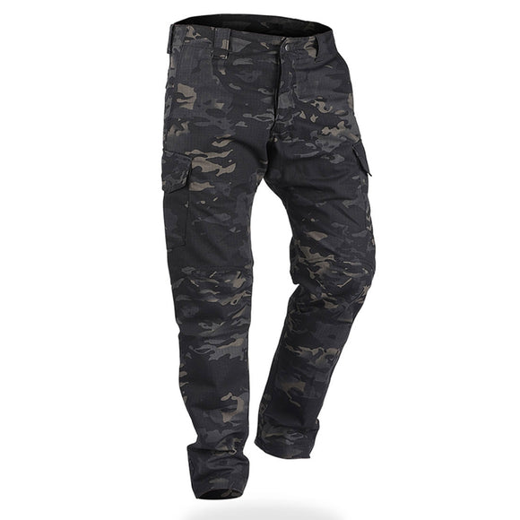 IDOGEAR GL Tactical Pants CP Field Trousers Camo Multicam Black