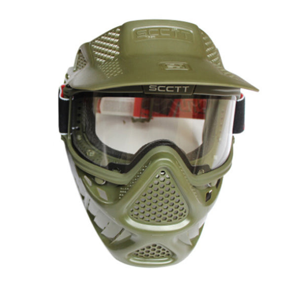 GREAT Sunshade Antifog Protecive Face Mask for Paintball - tacticalxmen