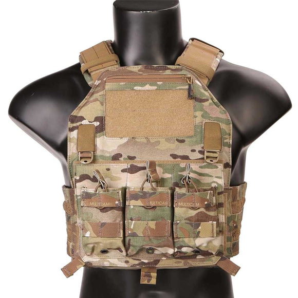 EmersonGear 420 Tactical Plate Carrier Vest with 3 Pouches - tacticalxmen