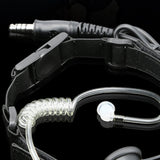 HS Tactical MIC Headset Set for NATO Plug PTT - tacticalxmen