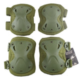 Wosport 4pcs Protective Knee Elbow Pads Set - tacticalxmen