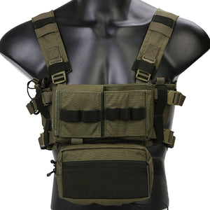 Emersongear Micro Fight Chissis MK3 Chest Rig - tacticalxmen