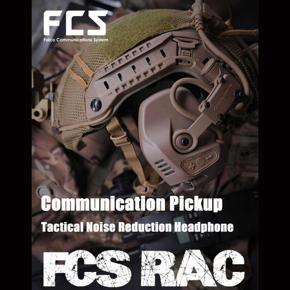 FCS-RAC Pickup Noise Reduction FAST Helmet Tactical Headset