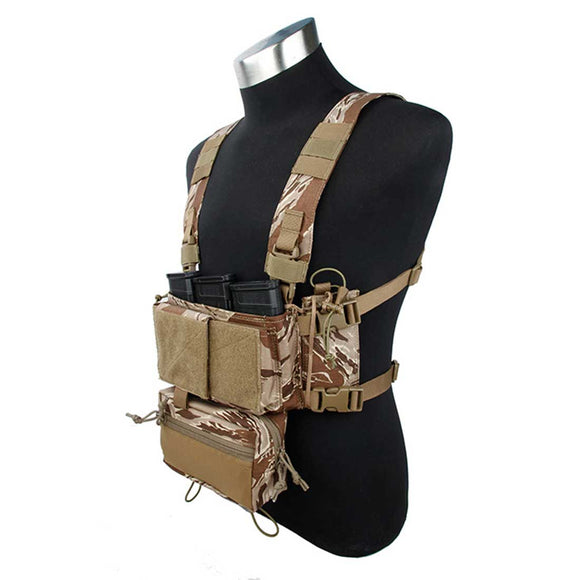 TMC SS Modular Chest Rig Lightweight Tactical Vest