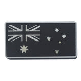 AOTDDOR 5cm×8cm Australia Flag Embroidery Backpack Clothes Decorative HOOk&LOOP Patch - White Edge - tacticalxmen