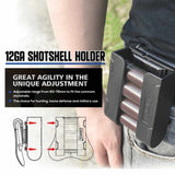 Universal 12GA Shotshell Holder for 4 Rounds 12GA Shotshells