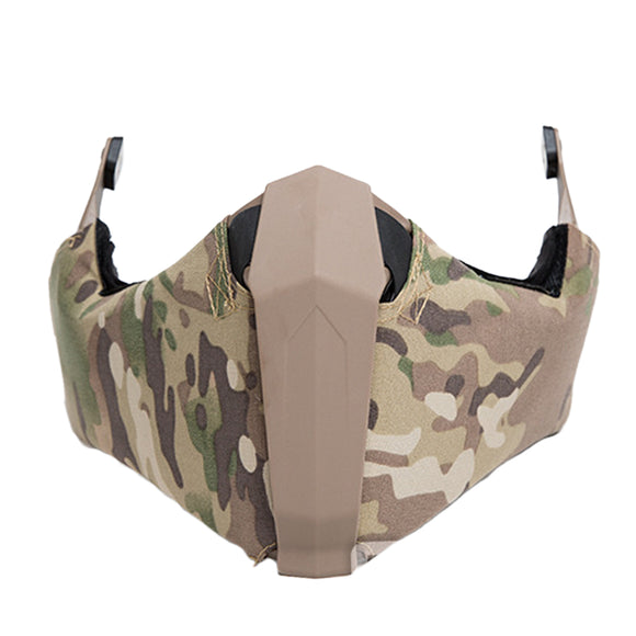 FMA Mandible Half Face Mask for Airsoft Fast Helmet - tacticalxmen
