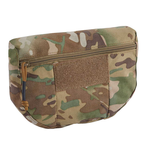 IDOGEAR Tactical Armor Carrier Drop Pouch AVS JPC CPC Pouch Waist Bag EDC Combat Tactical Waist Pouch Multicam