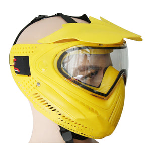 Copy of GREAT Sunshade Antifog Protecive Face Mask for Paintball-Yellow - tacticalxmen
