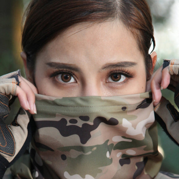 Multipurpose Tactical Head Scarf Breathable Scarf Wrap Hood - tacticalxmen