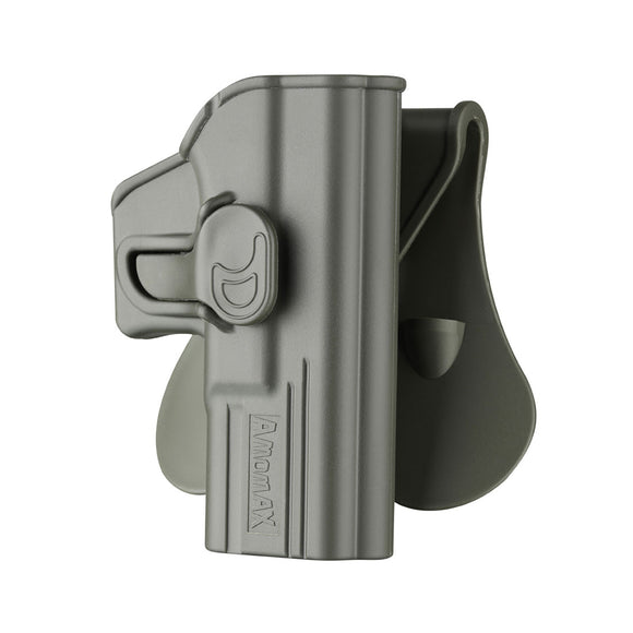 Amomax Tactical Holster for Glock 19/23/32 ISSC M22 Series ICS BLE-XAE Series - Right-handed Green