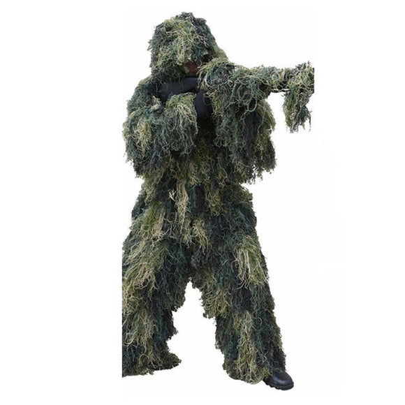Camouflage Ghillie Suit 3D Hunting Apparel - tacticalxmen