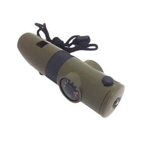 MAVI Multifunctional Whistle with Compass LED for Outdoor Adventure - tacticalxmen