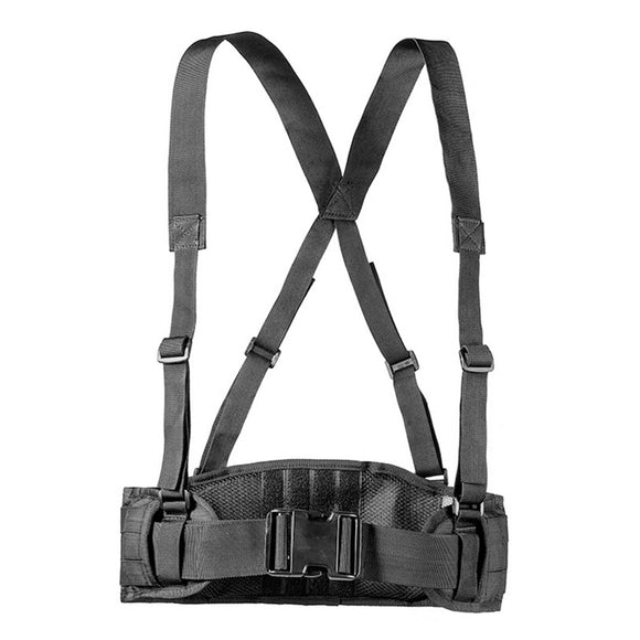 Multi-function Molle Adjustable Nylon Suspender Belt - tacticalxmen