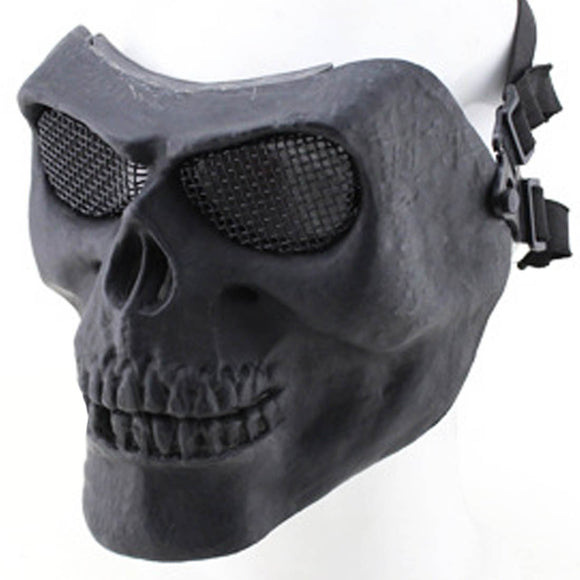 Skull Chieftain Mask for Airsoft Halloween Activities - tacticalxmen