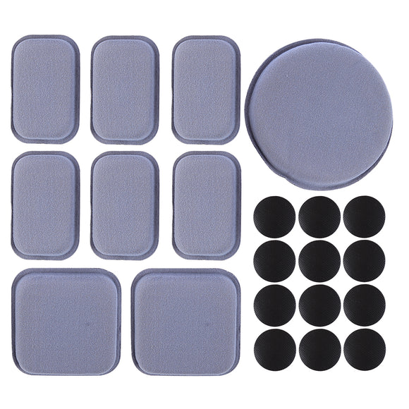 FMA Helmet Memory Foam Pad Set for WG Ourdoor Activity - Grey - tacticalxmen