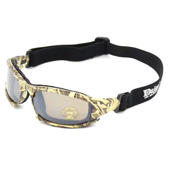 Daisy X7 Airsoft Tactical Polarized Goggles - tacticalxmen