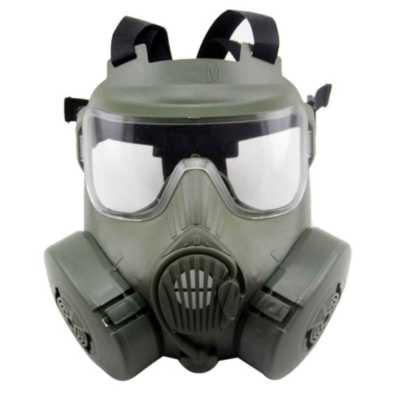 M50 Tactical Paintball Full Face Skull Gas Mask