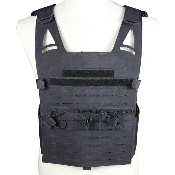Wosport WPC Tactical Vest Plate Carrier-Black - tacticalxmen