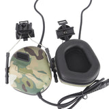 WST Gen.5 Helmet Type Communication Noise Canceling Headphones Sound Pickup Headset - Rainforest Color and Camouflage