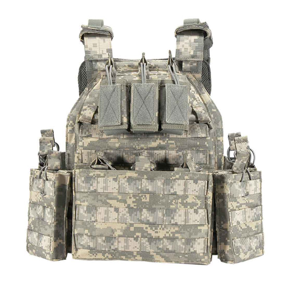 YAKEDA Outdoor Army Modular Plate Carrier Tactical Vest  VT6026-1 - Upgraded Version