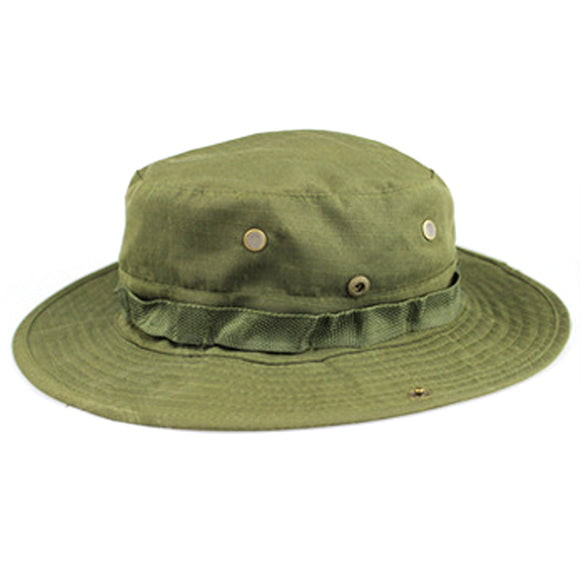 Wosport Solid-colored Boonie Hat for Outdoor Activities - tacticalxmen