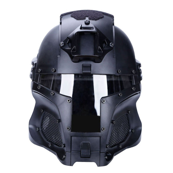 Medieval Knight Tactical Iron Warrior Helmet for Outdoor Activities - tacticalxmen