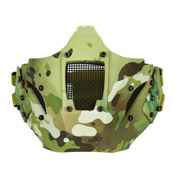 WST Iron Warrior Half Face Tactical Mask - tacticalxmen
